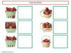 free strawberry patch activities from prekinders.com on Teacherspayteachers