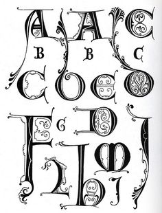 Ornamental Typography Revisited 002 by peacay, via Flickr