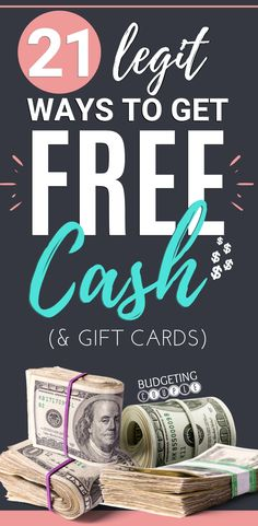 Find out how easy it is to rack up free cash and gift cards with these legit apps, websites, and companies! Start making money on autopilot when you use these side hustle ideas and money making hacks! This make money list is perfect if you are a frugal l Cash Gift Card, Gift Cards, Make Easy Money, Way To Make Money, Making A Budget, Making Ideas, Free Money Now, Money Generator, Free Cash