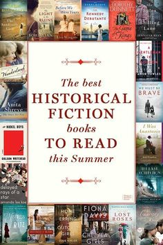 The Best Historical Fiction Books to Read This Summer Escape the heat and go back in time! Find your next historical fiction read on this book list, from beloved tales now in paperback to the latest stories hitting bookshelves this summer. Books You Should Read, Best Books To Read, I Love Books, Good Books, Best Books Of All Time, Best Historical Fiction Books, Fiction Books To Read, Historical Romance, Book Suggestions