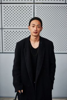 Street style: Park Sung Jin at Seoul Fashion Week Spring 2015