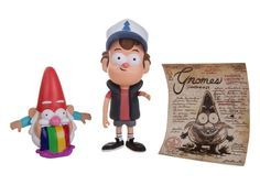 Dipper Pines Figure <--- how DARE you forget about the barfing gnome!