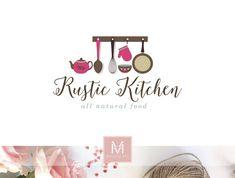 Food and Gardening Tips Boutique Logo, Design Boutique, Bakery Logo Design, Food Logo Design, Logo Food, Logo Restaurant, Logo Dulce, Logan, Sign Board Design