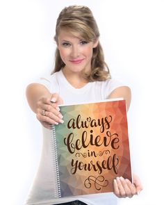 Tools4Wisdom 2016 Planner - Always Believe in Yourself....personally have it and LOVE it!!