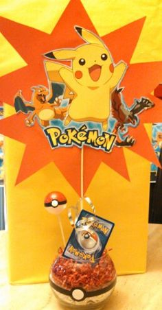 Pokemon centerpiece