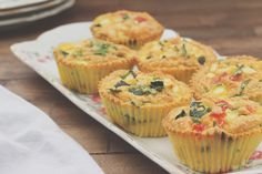 Frittata Muffins, Quiche, Tapas, Vegetarian Recipes, Healthy Recipes, Healthy Food, Good Food, Yummy Food, Most Delicious Recipe
