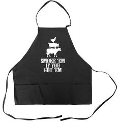 Funny Father Day Grill Regalo bbq grilling apron para hombres con bolsillos Barbacoa Pit Master Dad Smoke Em If You Got Em Barbacoa Meat Smoker Grill Apron, Bbq Apron, Barbecue Smoker, Bbq Grill, Barbacoa, Shop Apron, Funny Aprons, Backyard Cookout, Meat Shop