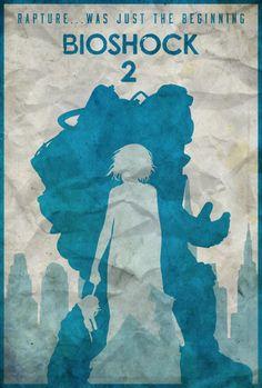 Subject Delta - Bioshock 2 Poster by edwardjmoran on DeviantArt