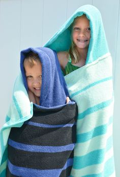 DIY Hooded Towel Tutorial for Toddlers and Big Kids