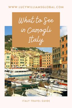 What to See in Camogli Italy - Lucy Williams Global European Travel Tips, Italy Travel Tips, Europe Travel Guide, Lucy Williams, Worldwide Travel, Visit Italy, Italy Vacation, Travel Aesthetic, Travel Hacks