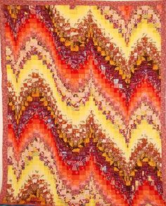 bargello quilts | Bargello Quilt Top by Becky Botello | Quilting Ideas
