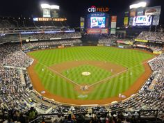NL East: Citi Field Home of the New York Mets - check