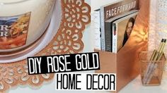 rose gold home decor - YouTube
