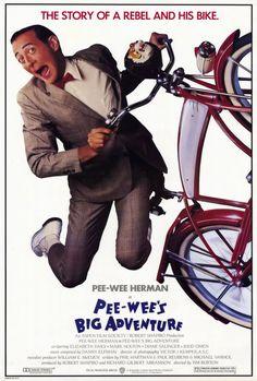 Pee wee's Big Adventure 27x40 Movie Poster (1985)