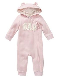 We couldn't resist pinning this adorable arch logo one-piece from GAP. Just look at those ears! So cute for the cold mornings ahead!