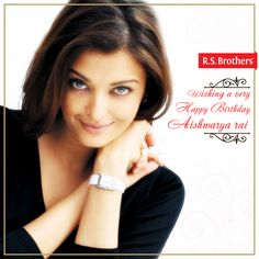 R.S.Brothers Wishing  #AishwaryaRai  A very #HappyBirthday :)  (Image copyrights belong to their respective owners)