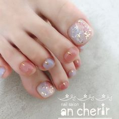 UV gel: the good tips for choosing it - My Nails Pedicure Nail Art, Toe Nail Art, Nail Manicure, Acrylic Nails, Pretty Toe Nails, Cute Toe Nails, My Nails, Feet Nail Design, Toe Nail Designs