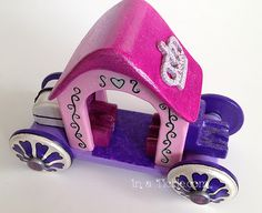 Handmade Wooden Doll Carriage
