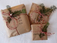 Idées paquets cadeaux : 3 idées avec du papier kraft   Le blog déco de Maisons du Monde