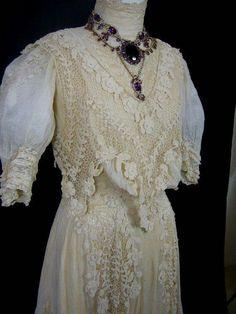 Vestido de novia del 1800
