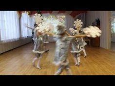 Танец снежинок. Детский сад №69 г. Сыктывкара - YouTube