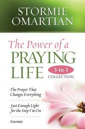 THE POWER OF A PRAYING LIFE 3-IN-1 COLLECTION by STORMIE OMARTIAN  Stormie Omartian's 3-in-1: The Prayer That Changes Everything, Just Enough Light for the Step I'm On & Stormie. Available from CUM Books in South Africa  Get Mom's copy in store or online today!  http://www.cumbooks.co.za/view/73484/the-power-of-a-praying-life-3-in-1-collection/