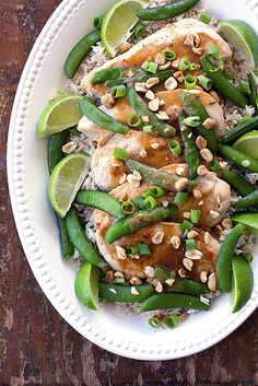 Thai Lime Chicken... Dinner party food