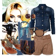women safari outfits photos - Google Search