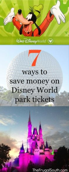 Tips & tricks for how to save money on Disney World tickets! How to get discount tickets, pick the cheapest dates, get special event tickets and more! Disney World Cheap, Disney World 2017, Disney On A Budget, Disney Planning, Disney Land, Cheap Disney Tickets, Disney World Park Tickets, Walt Disney World Vacations, Disney World Tips And Tricks