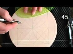 Chip Carving a Plate Border - YouTube
