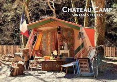 Camping Room, Retro Caravan, Camping Style, Big Bear, Campsite, Glamping, Retro Vintage, Outdoors, Tents