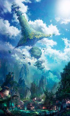 Wisesonic - Zhang Chen - fantasy art