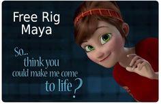 Free Download: Disney Pixar Like Character Rig for...