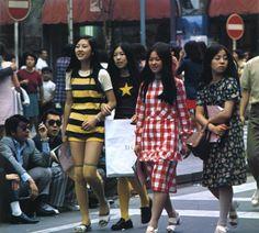 1971. Stylish Japanese girls