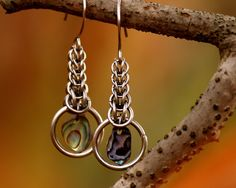 RESERVED FOR MARLA Stainless Steel Earrings  With por calmb4tehpwn