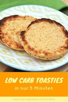 Wie du Low Carb Toasties in 5 Minuten selber machst und dein Low Carb Frühstück revolutionierst!
