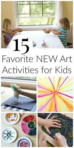 15 Favorite New Art Activities for Kids (The Artful Parent)