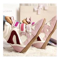 High Heels Or High Heeled Sneakers? Sneakers For Sale, Best Sneakers, Isabel Marant Sneakers, Suede Shoes, Shoe Boots, Baskets, High Heel Sneakers, High Heels, Ugly Shoes