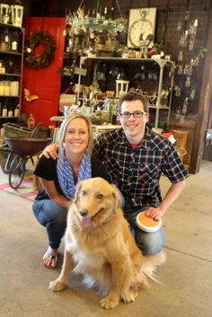 Don't you just love it!   We are pet friendly at The Barn Nursery!
