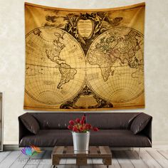 Antique world map wall tapestry vintage world map wall hanging antique world map wall tapestry vintage world map wall hanging vintage old map wall decor steampunk wall art print map wall decor wall tapestries and gumiabroncs Images