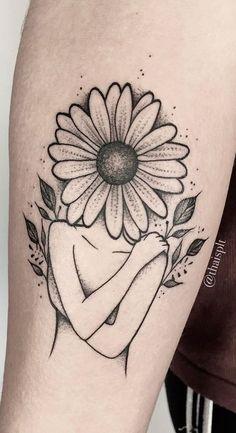 25 Tatuagens de Girassol para você se inspirar - Fotos e Tatuagens