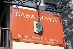 Casa Maya for lunch-Saint Augustine. Shrimp Tacos to die for! Downtown Restaurants, Great Restaurants, Maya, Florida Weather, Old Pub, Breakfast Lunch Dinner, Florida Travel, Future City, Places To Eat
