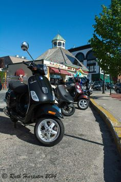 Ha! Scooter gang in Newport, RI.  OK, I admit, it would be so fun to explore the area on a scooter.