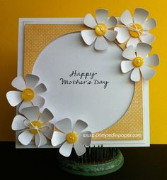 cricut mothers day card | Cards / Happy Mother's Day cricut card