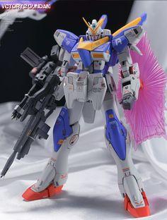 GUNDAM GUY: MG 1/100 V2 Gundam Ver. Ka - Customized Build