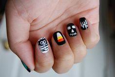 Get Halloween nail art ideas!