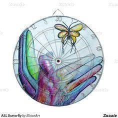 ASL Butterfly Dartboards