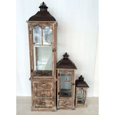 Sada dřevěných luceren China Cabinet, Storage, Furniture, Home Decor, Purse Storage, Crockery Cabinet, Decoration Home, Room Decor, Home Furnishings