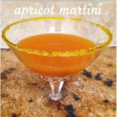 Apricot Martini from EatDrinkEat.com