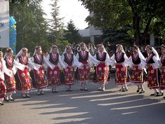 Bulgarian Traditional Dancing (Elhovo, Bulgaria)